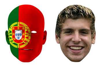 Portugal World Cup Face Mask Pack Veloso