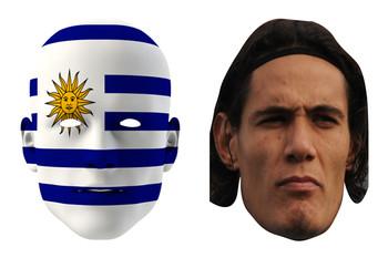 Uruguay World Cup Face Mask Pack Cavani