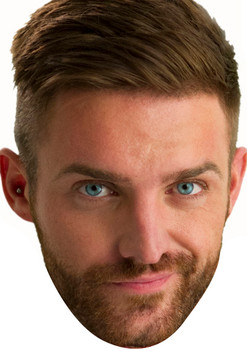Aaron Chalmers 2018 Celebrity Face Mask
