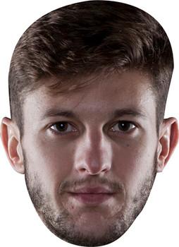 Adam Lallana Football 2018 Celebrity Face Mask