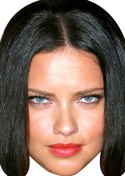 Adriana Lima Movies Stars 2018 Celebrity Face Mask