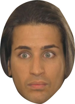 Ollie Made In Chelsea Celebrity Face Mask