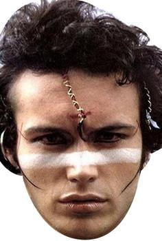 Adam Ant Celebrity Face Mask