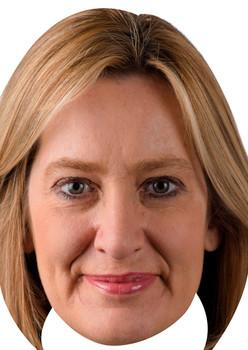 Amber Rudd Uk Politician Face Mask