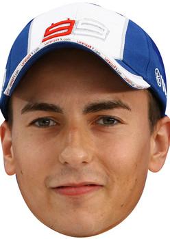 Jorge Lorenzo Sports Face Mask