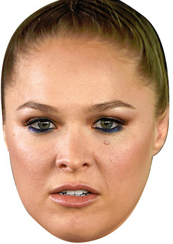 Ronda Rousey Fighter Sports Face Mask