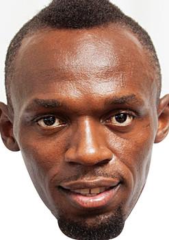 Usain Bolt Sports Face Mask