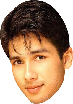 Shahid Kapoor Bollywood Face Mask