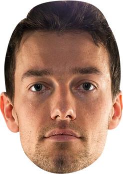 Jolyon Palmer Celebrity Face Mask