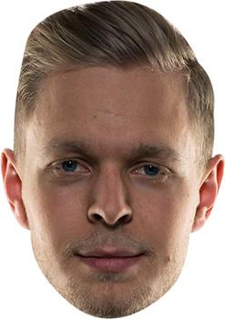 Kevin Magnussen Celebrity Face Mask