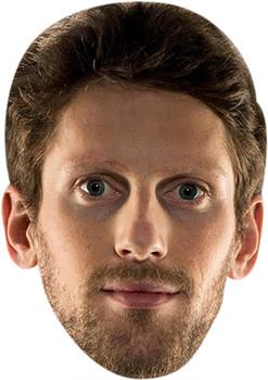 Romain Grosjean Celebrity Face Mask
