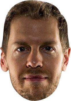 Sebastian Vettel  Celebrity Face Mask