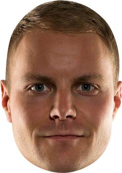 Valtteri Bottas Celebrity Face Mask