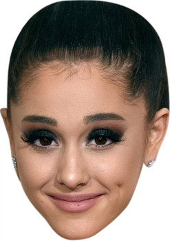 Ariana Grande Music Stars Face Mask