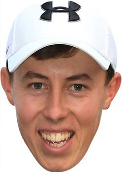 Matt Fitzpatrick Golf Celebrity Face Mask Party Mask
