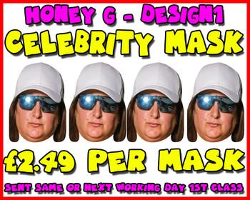 Honey G X Factor Celebrity Party Mask Pack