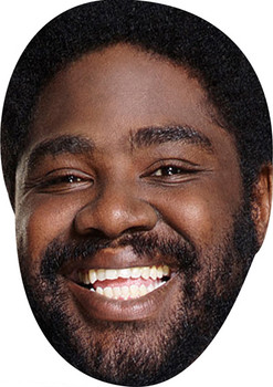 Ron Funches Comedian Face Mask