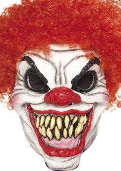 Scary Clown Red Face Mask 2018 Face Celebrity Face Mask
