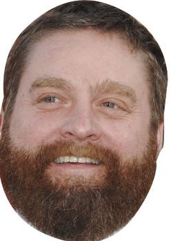 Zach Galifianakis 2018 Celebrity Face Mask