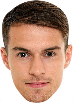 Aaron Ramsey (1) Celebrity Party Face Mask