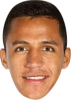 Alexis Sanchez Celebrity Party Face Mask