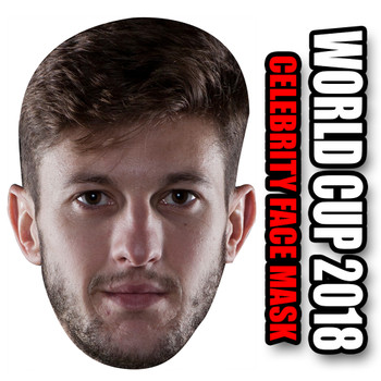 Adam Lallana England Football World Cup 2018 Face Mask