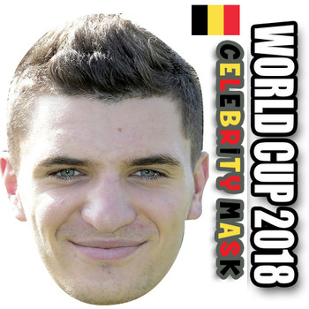 Thomas Meunier Belgium Football World Cup 2018 Face Mask