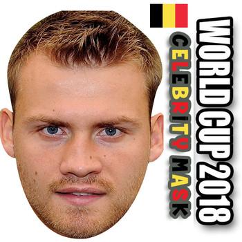 Simon Mignolet Belgium Football World Cup 2018 Face Mask