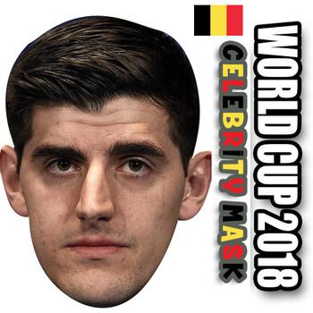 THIBAUT COURTOIS Belgium Football World Cup 2018 Face Mask