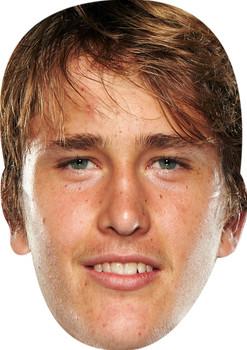 Alexander Zverev Sports Star Celebrity Face Mask