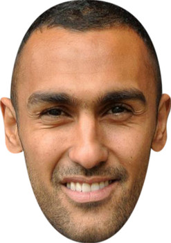 Ahmed Elmohamady (2) Football Sensation Face Mask