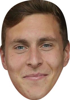 Victor Lindelof Football Sensation Face Mask