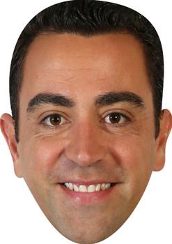 Xavi Football Sensation Face Mask