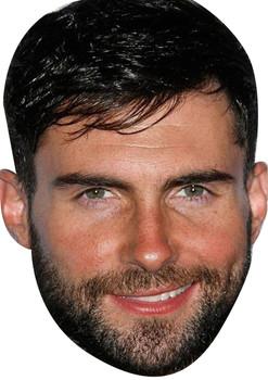 Adam Levine Tv Movie Star Face Mask