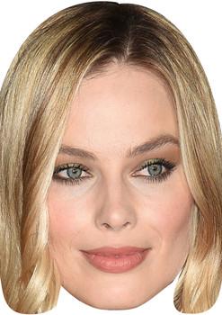 Margot Robbie Copy Tv Movie Star Face Mask