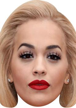 Rita Ora Copy Tv Movie Star Face Mask