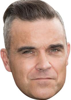 Robbie williams  celebrity music star celebrity face mask Fancy Dress Face Mask 2021