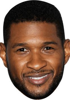 Usher Celebrity Music Star Face Mask