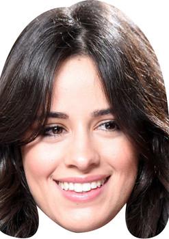 Camila Cabello Celebrity Music Star Face Mask