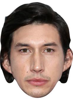 ADAM DRIVER JB Actor Movie Tv celebrity face mask Fancy Dress Face Mask 2021