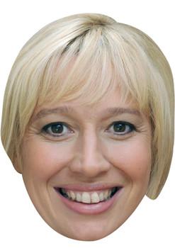 JULIE CARP JB - Coronation Street Actors Fancy Dress Cardboard Celebrity Face Mask