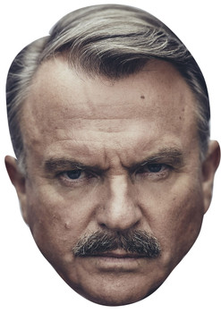 Sam neill inspector chester campbell peaky blinders tv movie star celebrity face mask Fancy Dress Face Mask 2021