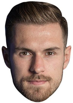 Aaron Ramsey 2021 footballer party mask