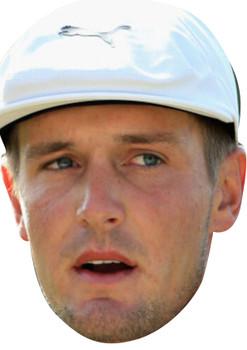 bryson dechambeau JB - Golf Fancy Dress Cardboard Celebrity Face Mask