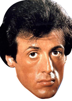 Young Sylvester Stallone Rocky Face Mask