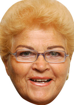 Pat Butcher Face Mask