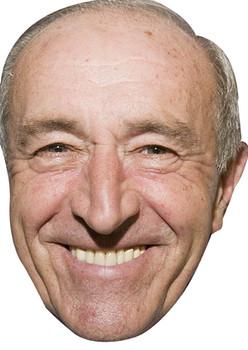Len Goodman Dancing Face Mask