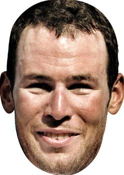 Mark Cavendish Olympic Racing Celebrity Mask