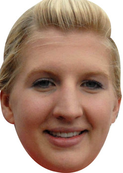 Rebecca Adlington Olympic Celebrity Mask