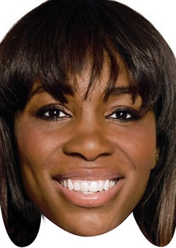Venus Williams Tennis Celebrity Face Mask